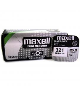 Pila de boton Maxell bateria original Oxido de Plata SR616SW blister 1X Unidad
