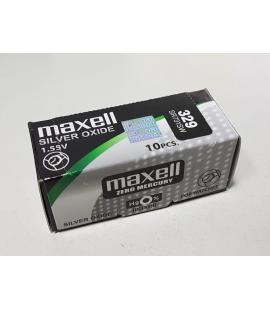 Pila de boton Maxell bateria original Oxido de Plata SR731SW blister 1X Unidad