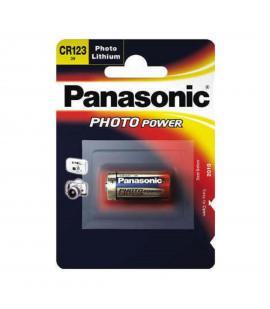 Pila Panasonic bateria original Litio Especial CR123A 3V en blister 1X Unidad