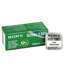 Pila de boton Sony bateria original Oxido de Plata SR936SW en blister 1X Unidad