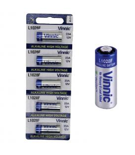 Pilas Vinnic bateria original Alcalina Especial LR23A 12V en blister 5X Unidades