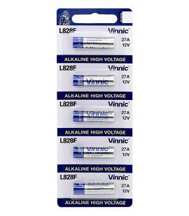 Pilas Vinnic bateria original Alcalina Especial LR27A 12V blister 10X Unidades