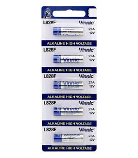 Pilas Vinnic bateria original Alcalina Especial LR27A 12V en blister 5X Unidades