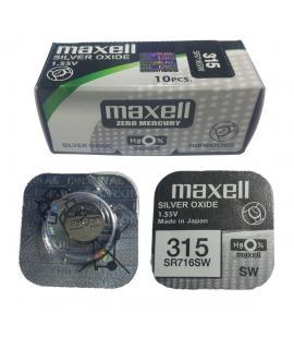 Pila de boton Maxell bateria original Oxido de Plata SR716SW blister 1X Unidad