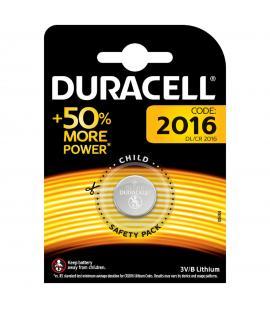 Pila de boton Duracell bateria original Litio CR2016 3V en blister 1X Unidad