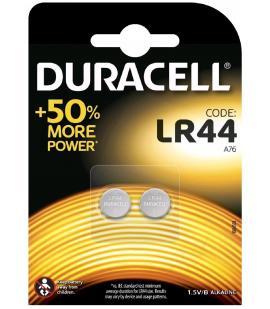 Pilas de boton Duracell bateria original Alcalina LR44 1,5V blister 4X Unidades
