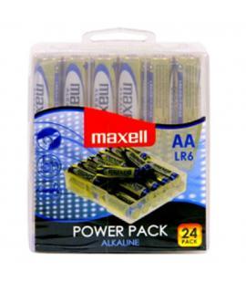Pilas Maxell bateria original Alcalina Tipo AA LR6 en blister 24X Unidades