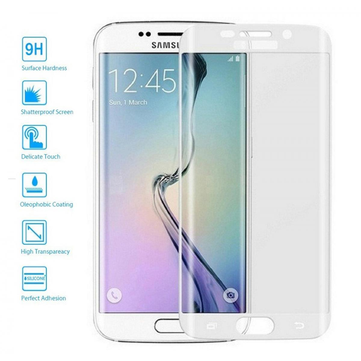 24978ccaf19 Protector de Cristal Templado Curvo 3D para Samsung Galaxy S7 Edge ...
