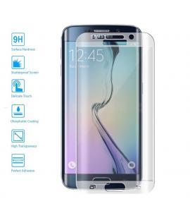 Protector de Cristal Templado Curvo 3D Samsung Galaxy S7 Edge Color Transparente