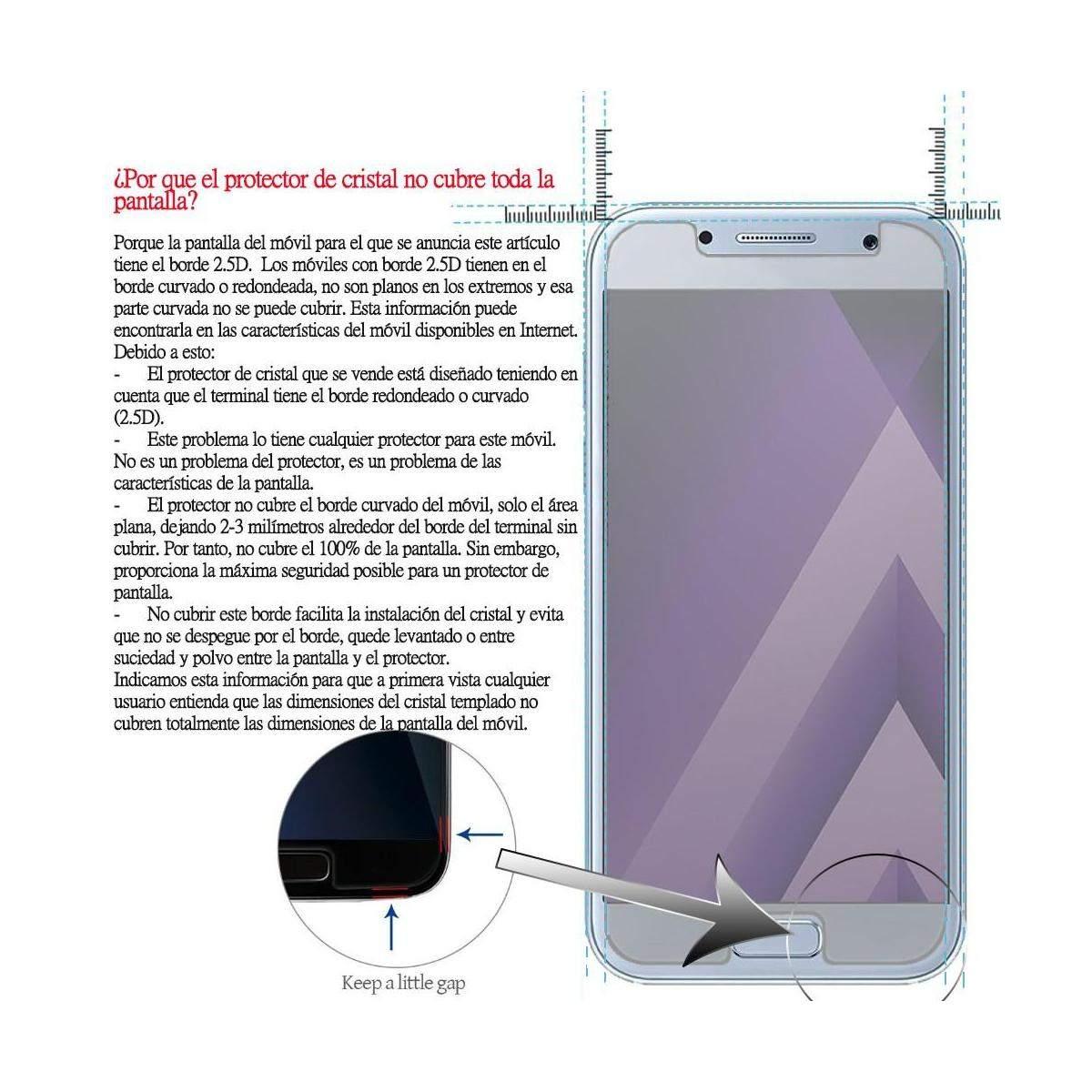 Kit-Protector-de-Pantalla-Cristal-Templado-Vidrio-para-Huawei-P-Smart-2019 miniatura 4