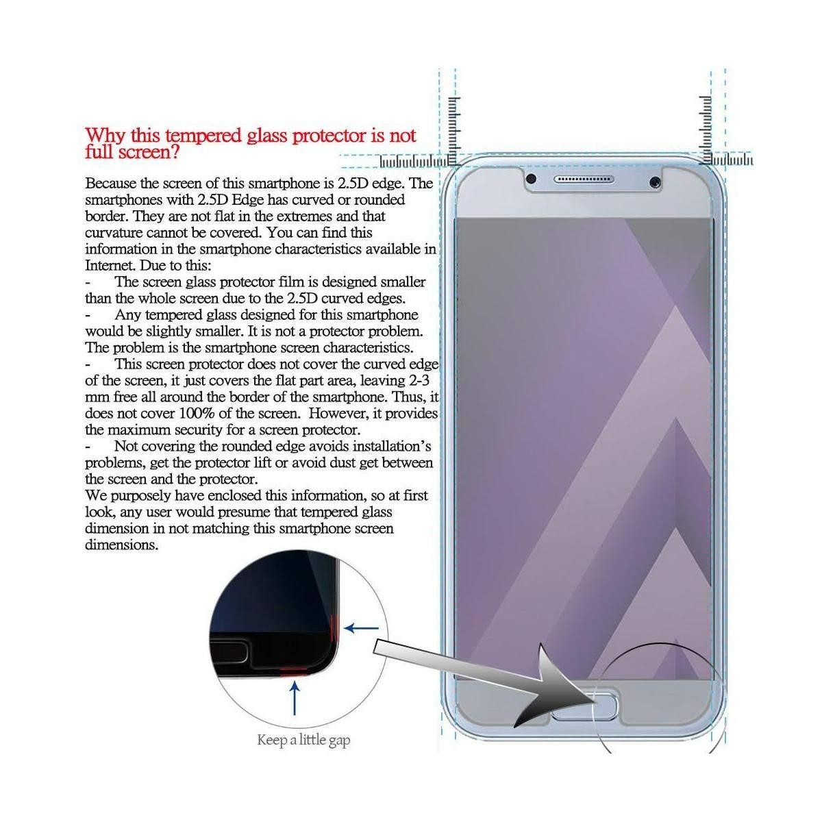 Kit-Protector-de-Pantalla-Cristal-Templado-Vidrio-para-Huawei-P-Smart-2019 miniatura 5