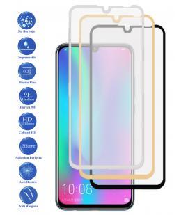 Protector de Cristal Templado Completo 3D 9H para Huawei P30 Elige Color
