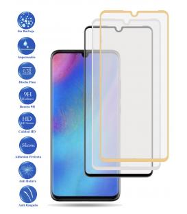 Protector de Cristal Templado Completo 3D 9H para Huawei P30 Lite Elige Color