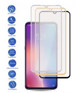 Protector de Cristal Templado Completo 3D 9H para Xiaomi XZ4 Elige Color