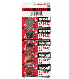 Pilas de boton Maxell bateria original Litio CR2032 3V en blister 10X Unidades