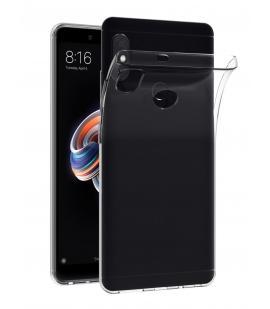 Funda de gel TPU carcasa silicona para movil Xiaomi Redmi Note 5 Transparente