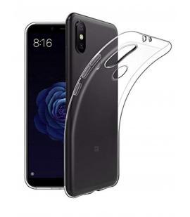 Funda de gel TPU carcasa silicona para movil Xiaomi MI A2 Transparente