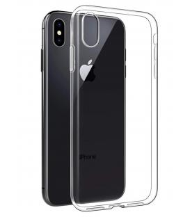 Funda de gel TPU carcasa protectora silicona para movil Iphone XS Transparente