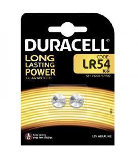 Pilas de boton Duracell bateria original Alcalina LR54 1.5V blister 10X Unidades