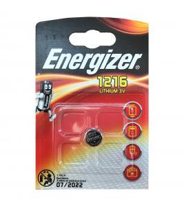 Pila de boton Energizer bateria original Litio CR1216 3V en blister 1X Unidad