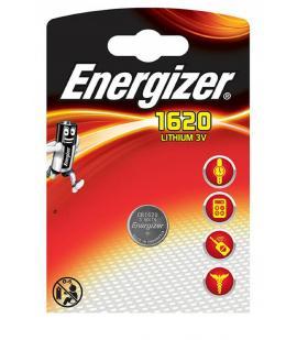 Pilas de boton Energizer bateria original Litio CR1620 3V en blister 5X Unidades