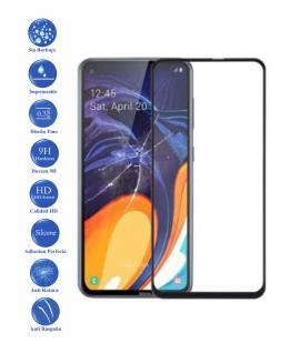 Protector de Cristal Templado Completo 3D 9H para Galaxy A60 Elige Color