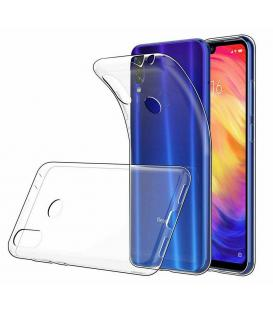Funda de gel TPU carcasa silicona para movil Xiaomi Redmi Note 7 Transparente