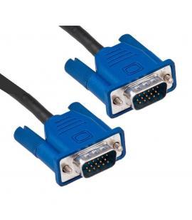 Cable VGA SVGA Alargador 1.3m para PC Monitor Pantalla 2xMacho 15Pines ordenador