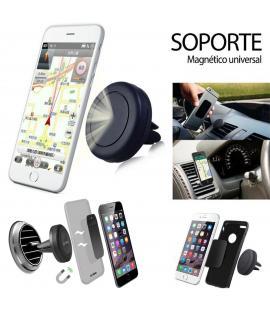 Soporte magnetico de telefono movil universal para coche rejilla ventilación