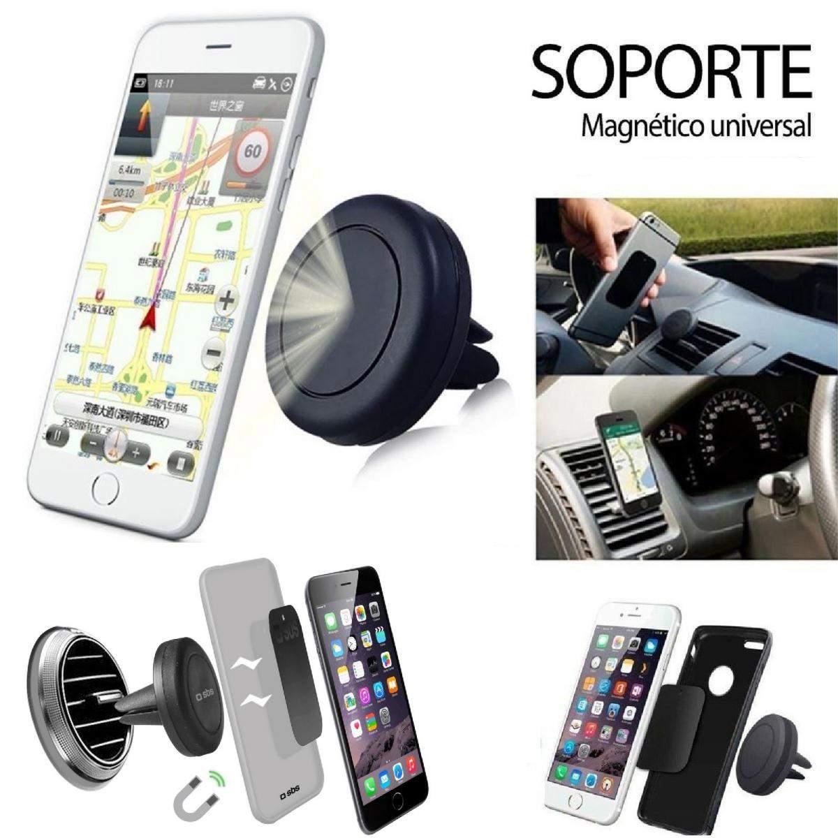 Soporte Magnetico De Telefono Movil Universal Para Coche Rejilla