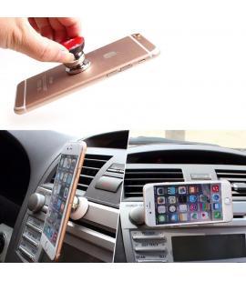Soporte de coche para movil universal magnetico de iman y giro / rotación 360