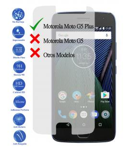 Protector de Pantalla Cristal Templado Vidrio 9H para Motorola Moto G5 Plus 5.2