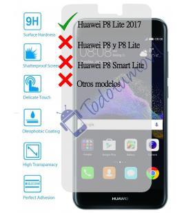 Protector de Pantalla Cristal Templado Vidrio 9H para Huawei Ascend P8 Lite 2017