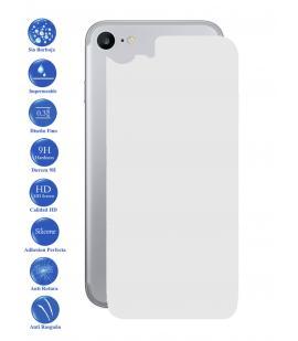 Protector de Pantalla Cristal Templado Vidrio 9H para Apple Iphone 7 I7 Trasero