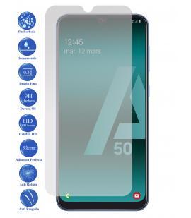 Protector de Pantalla Cristal Templado Vidrio 9H para Samsung Galaxy A50 2019
