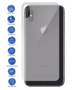 Protector de Pantalla Cristal Templado Vidrio 9H para Apple Iphone X 10 Trasero