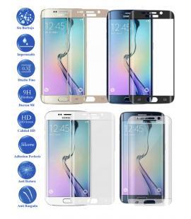 Protector de Cristal Templado Completo para Samsung S6 Edge Plus Elije Color