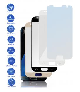 Protector de Cristal Templado Completo 3D 9H para Samsung Galaxy S7 Elige Color
