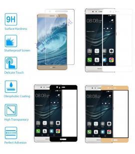 Protector de Cristal Templado Completo 9H para Huawei Ascend P9 Plus Elije Color