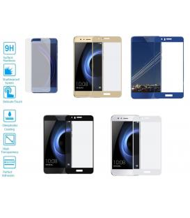 Protector de Cristal Templado Completo 9H para Huawei Ascend Honor 8 Elije Color