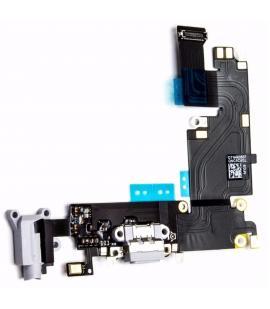 Flex Dock Conector De Carga Power Microfono Jack Auricular Iphone 6 Plus Negro