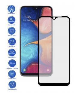 Protector de Cristal Templado Completo para Samsung A20 A20 E A20E Elige Color