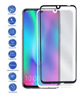 Protector de Cristal Templado Completo 9H para Huawei Honor 20 Lite Elige Color
