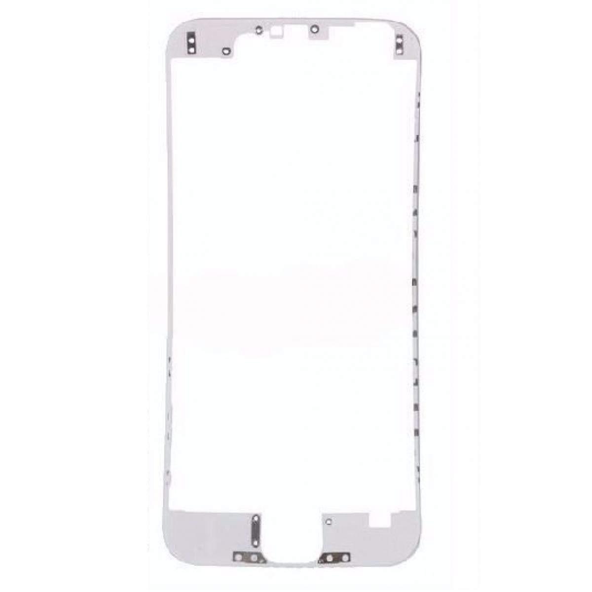 7cf7aafbf8a Repuesto reemplazo de Bisel Marco Frontal Chasis Medio para Iphone 6 Plus  Blanco