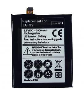 Bateria de recambio neutral para LG Optimus G2 Modelo bl-t7 Capacidad 2900 mah