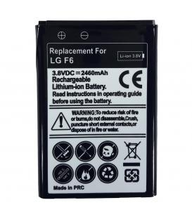 Bateria de recambio neutral para LG Optimus F6 Modelo d500 Capacidad 2460 mah