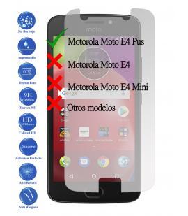 Protector de Pantalla Cristal Templado Vidrio para Motorola Moto E4 Plus 4G 5.5