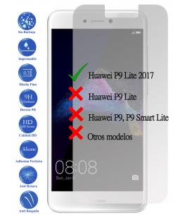 Protector de Pantalla Cristal Templado Vidrio Premium para Huawei P9 Lite 2017