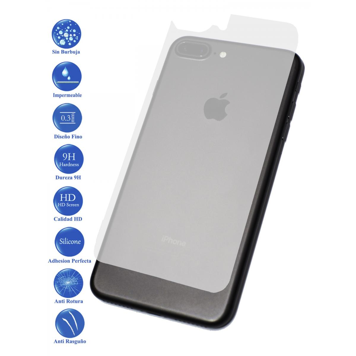 826b4fa4f06 ... Pantalla Cristal Templado Vidrio para Apple Iphone 7 Plus Trasero.  Protector ...