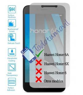 Lote Protector de Pantalla Cristal Templado Vidrio para Huawei Honor 6A 4G 5.0